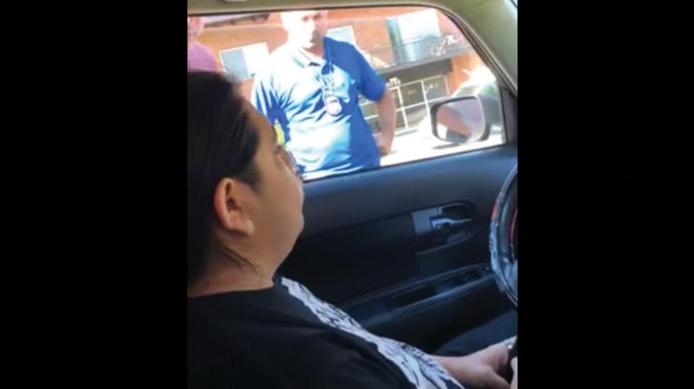 #Video Agentes de ICE detienen a migrante mexicano rompiendo ventanilla de su auto - Migrante ICE