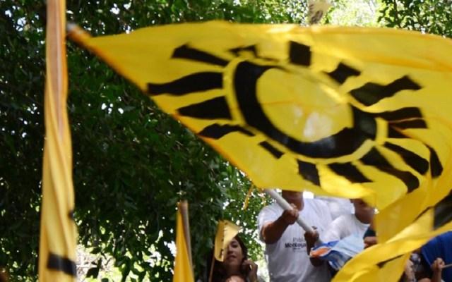 PRD califica de 'raquítico' el crecimiento del PIB - Militantes del PRD. Foto de @PartidodelaRevolucionDemocratica