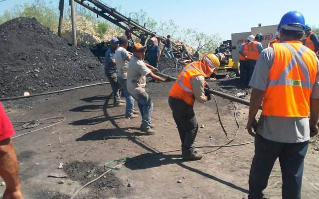 Derrumbe en mina deja un trabajador muerto en Coahuila - mina Múzquiz Coahuila