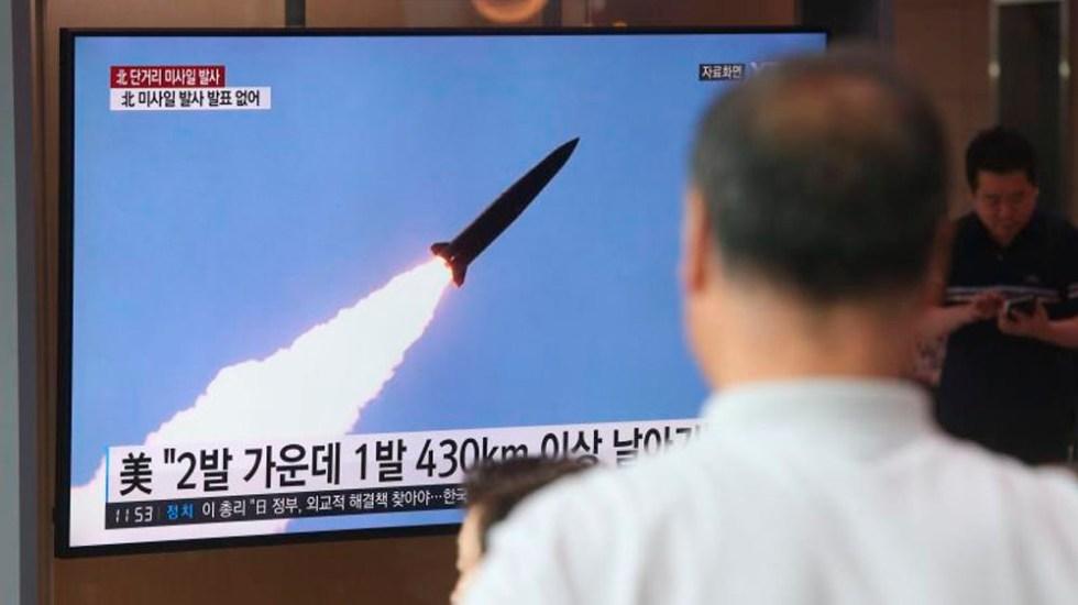 Japón todavía ve a Corea del Norte como una amenaza - misiles corea del norte proyectiles