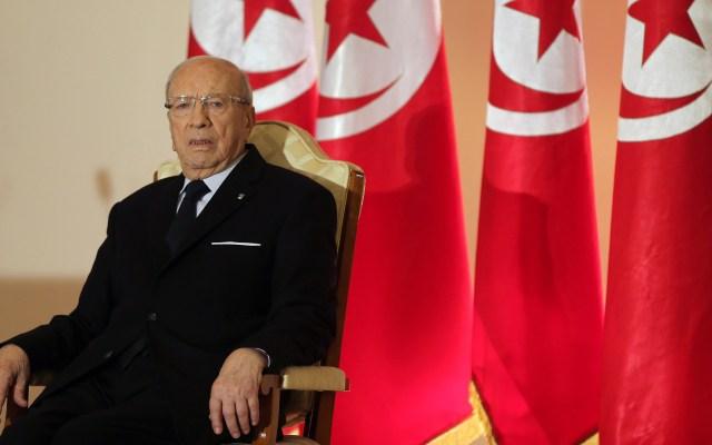 Muere el presidente de Túnez, Mohamed Béji Caid Essebsi - Mohamed Béji Caid Essebsi, presidente de Túnez. Foto de EFE / EPA / Mohamed Messara
