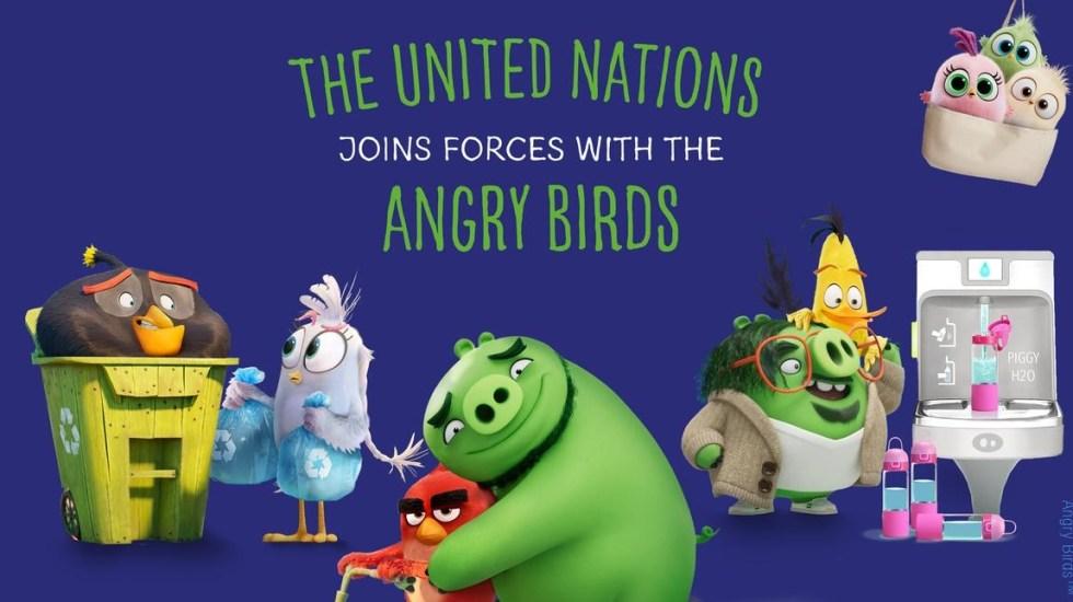 Naciones Unidas une esfuerzos con 'Angry Birds' contra crisis climática - Naciones Unidas ONU Angry Birds cambio climático