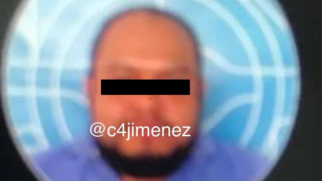 Oscar N. presunto implicado en homicidio de Norberto Ronquillo. Foto de @c4jimenez / Uber