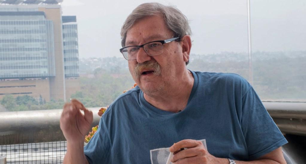 Paco Ignacio Taibo II expresa respaldo a Martí Batres - Fráncfort Paco Ignacio Taibo II FCE