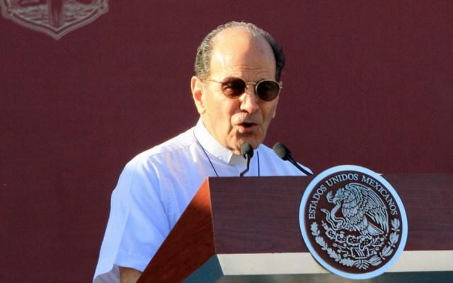 Segob mantendrá medidas de seguridad al padre Solalinde - Padre Alejandro Solalinde