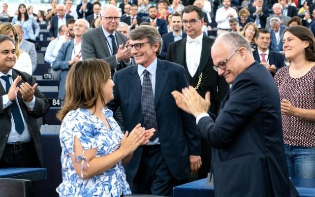 David Sassoli es el nuevo presidente del Parlamento Europeo - Parlamento Europeo David Sassoli
