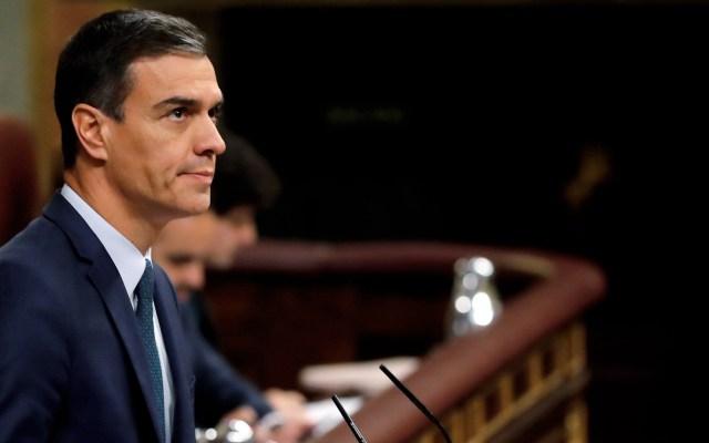 Peligra investidura de Pedro Sánchez por abstención de Unidos Podemos - Pedro Sánchez en el Congreso de España. Foto de EFE / Ballesteros