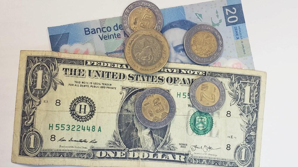 Peso cierra este viernes en 20.20 unidades por dólar; termina la semana con recuperación - Peso dòlar dólares tipo de cambio moneda billetes dinero