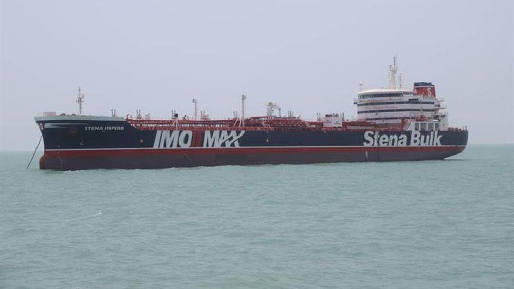Reino Unido convoca a diplomático iraní por captura de petrolero - reino unido mediador irán buque