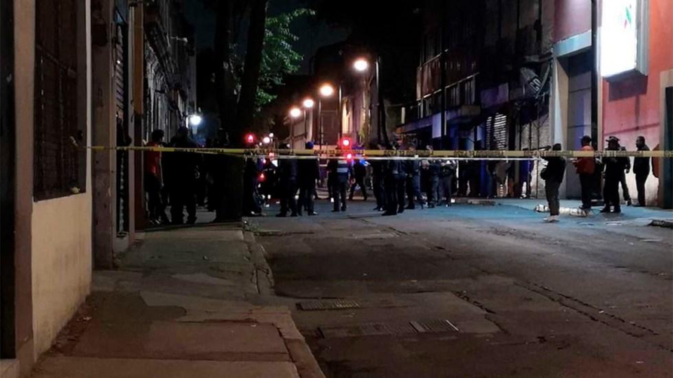 Asesinan a hombre en las inmediaciones de Plaza Garibaldi - asesinan a hombre cerca de plaza garibaldi