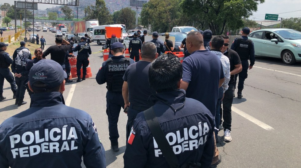 Presentarán tabuladores para liquidar o indemnizar policías federales - Foto de Notimex