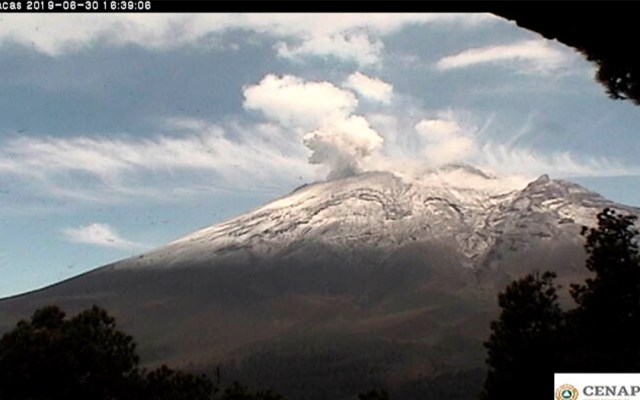 Popocatépetl registra 34 explosiones  en menos de 24 horas - popocatépetl explosiones exhalaciones