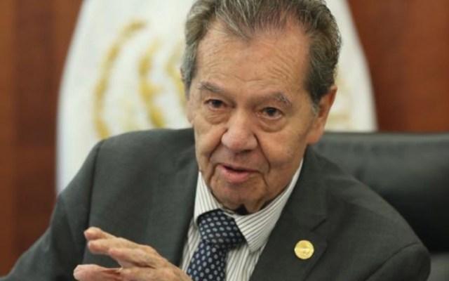 Muñoz Ledo critica manifiesto de diputados de Morena contra Laura Rojas - Foto de Twitter Porfirio Muñoz Ledo