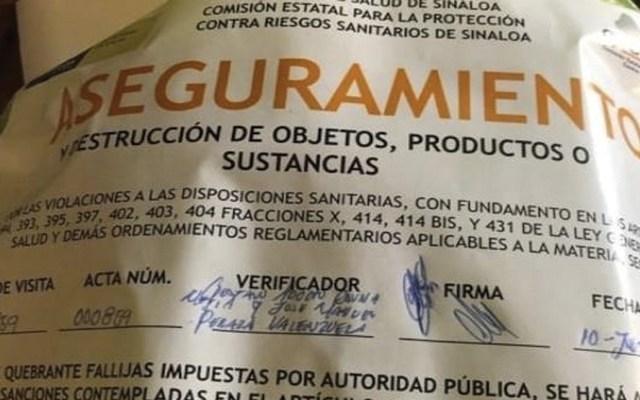 Al menos 19 intoxicados con queso de cabra en Sinaloa - Foto de Tribuna