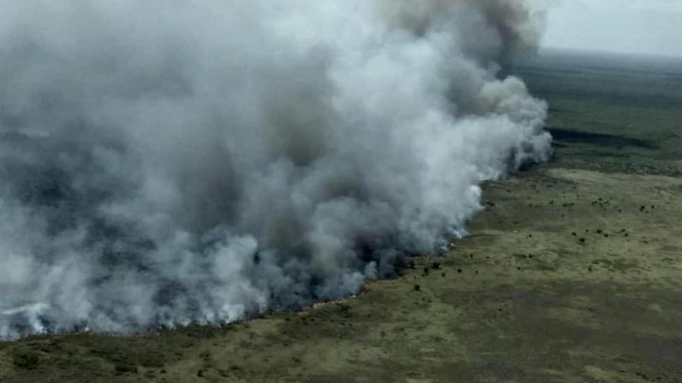 Activan Plan DN-III-E por incendio en Sian Ka'an en Quintana Roo - Quintana Roo incendio