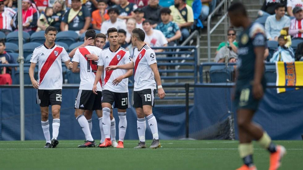 América cae ante River Plate en Colossus Cup - Foto de Mexsport