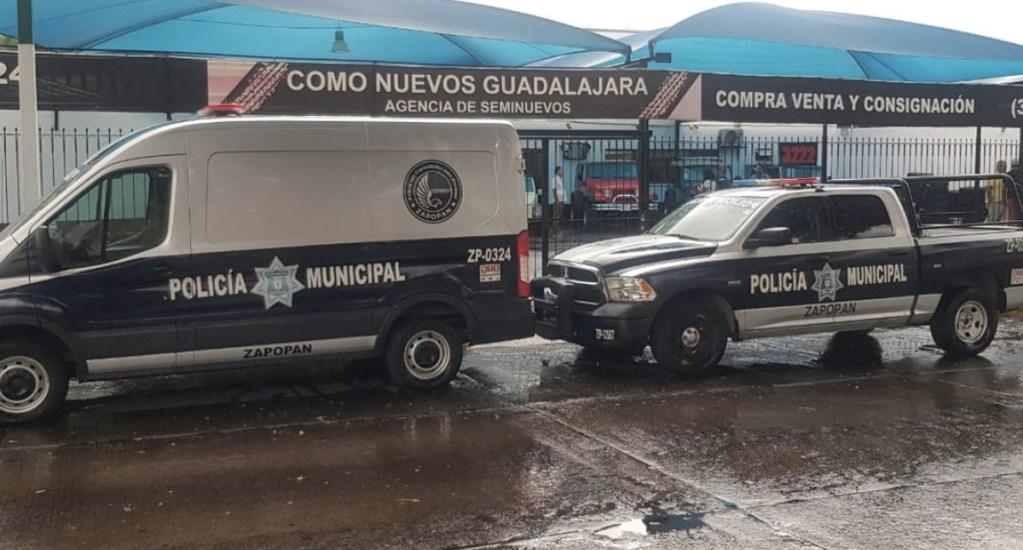 Roban 12 vehículos de un lote en Zapopan - Foto de Quadratín