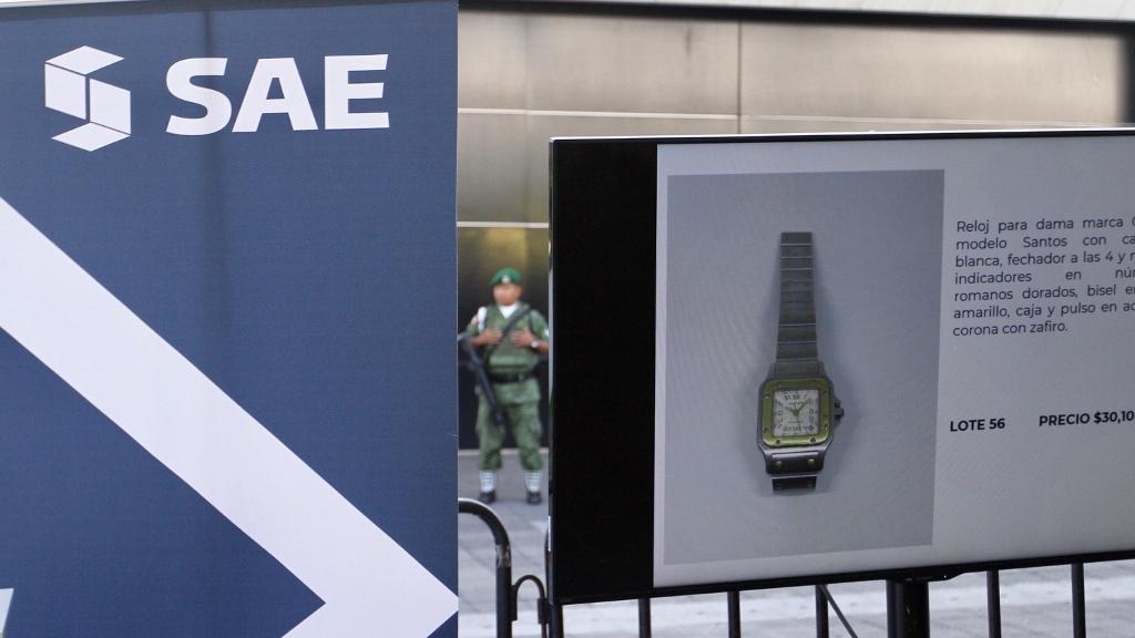 SAE logra vender más de 10 mdp en joyas decomisadas - SAE joyas venta SHCP