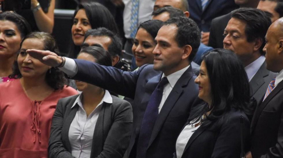 Diputados ratifican a Arturo Herrera como secretario de Hacienda; rinde protesta - Arturo Herrera
