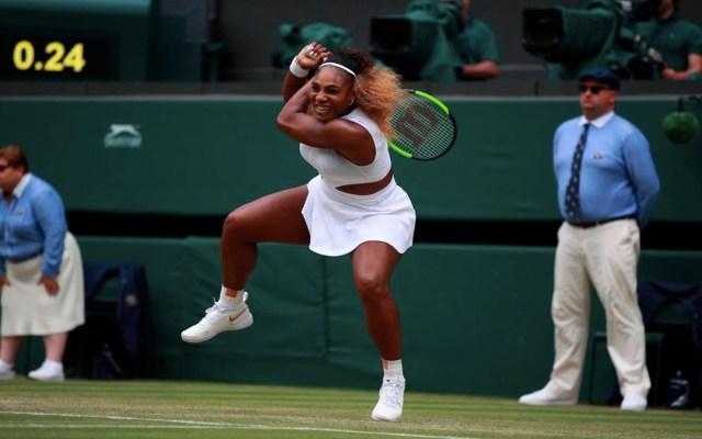 Multan a Serena Williams por dañar césped de Wimbledon - serena williams multa wimbledon