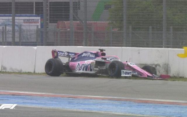 Checo Pérez se retira del Gran Premio de Alemania - sergio checo pérez abandono gran premio de alemania