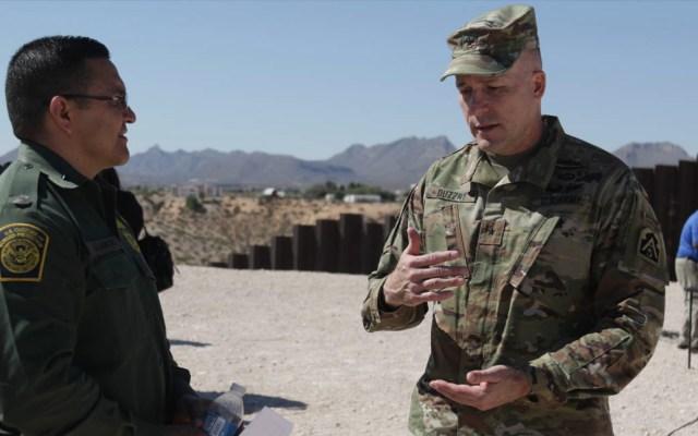 EE.UU. enviará más soldados a la frontera con México - Soldados Estados Unidos frontera México