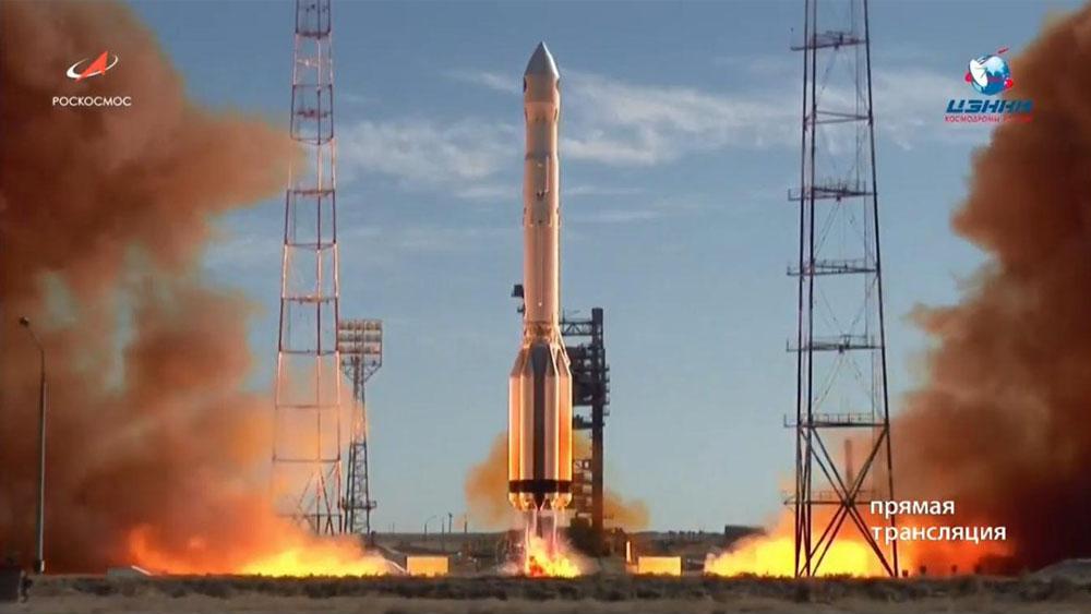 Despega el cohete Protón-M con un observatorio espacial ruso-alemán