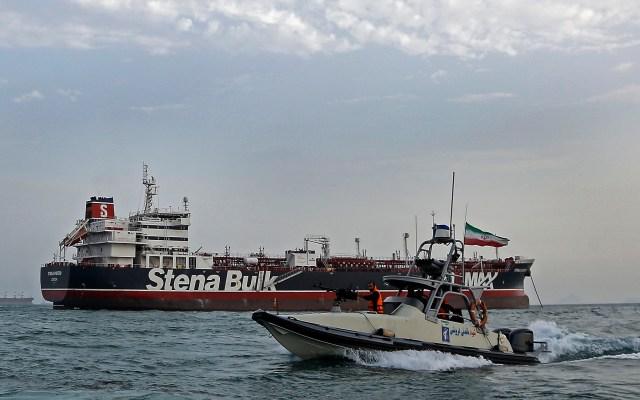 Irán insiste en que captura de petrolero británico fue legal - Petrolero británico, Stena Impero. Foto de EFE / EPA / Hasan Shirvani