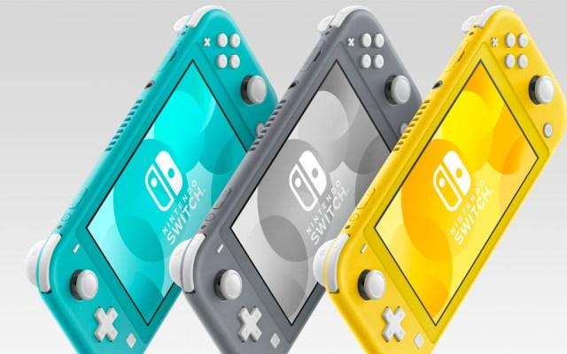 Nintendo anuncia fecha de lanzamiento del Switch Lite - Switch Lite