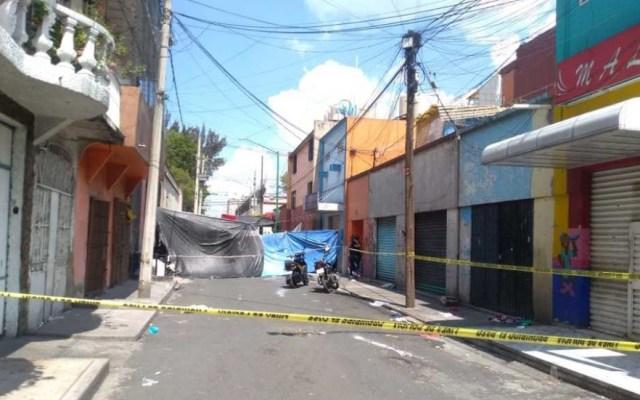 Balacera en Tepito deja dos muertos y un detenido - Tepito balacera detenido muertos