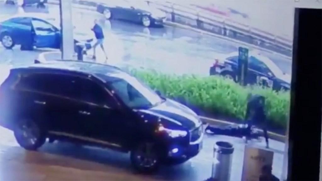#Video Tiroteo al exterior de Artz Pedregal - Captura de pantalla