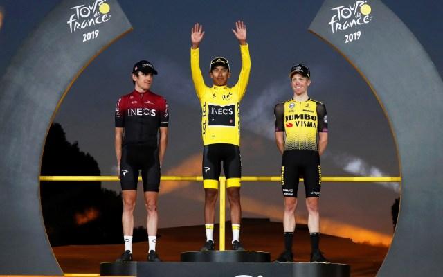Egan Bernal es el primer colombiano en ganar el Tour de Francia - Foto de EFE/GUILLAUME HORCAJUELO