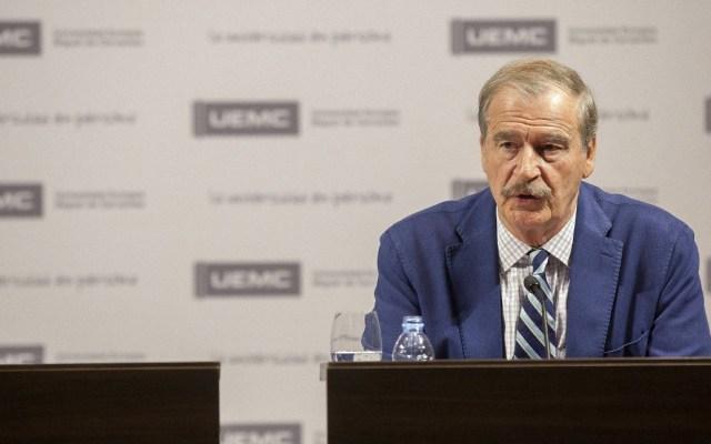 Con López Obrador, México 'navega sin rumbo': Vicente Fox - Vicente Fox Quesada. Foto de EFE