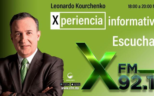 Leonardo Kourchenko estrena programa de radio