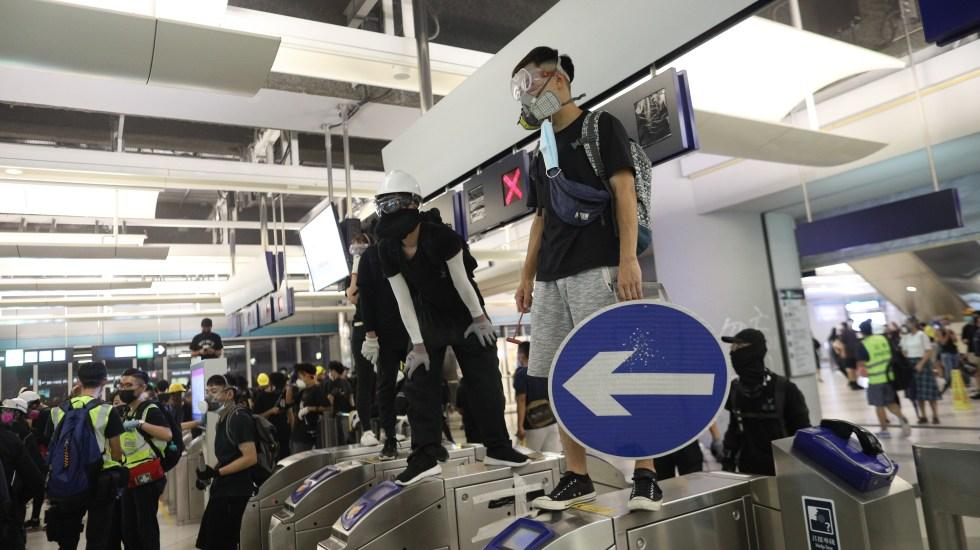La lucha pro-democracia de Hong Kong - Foto de EFE.
