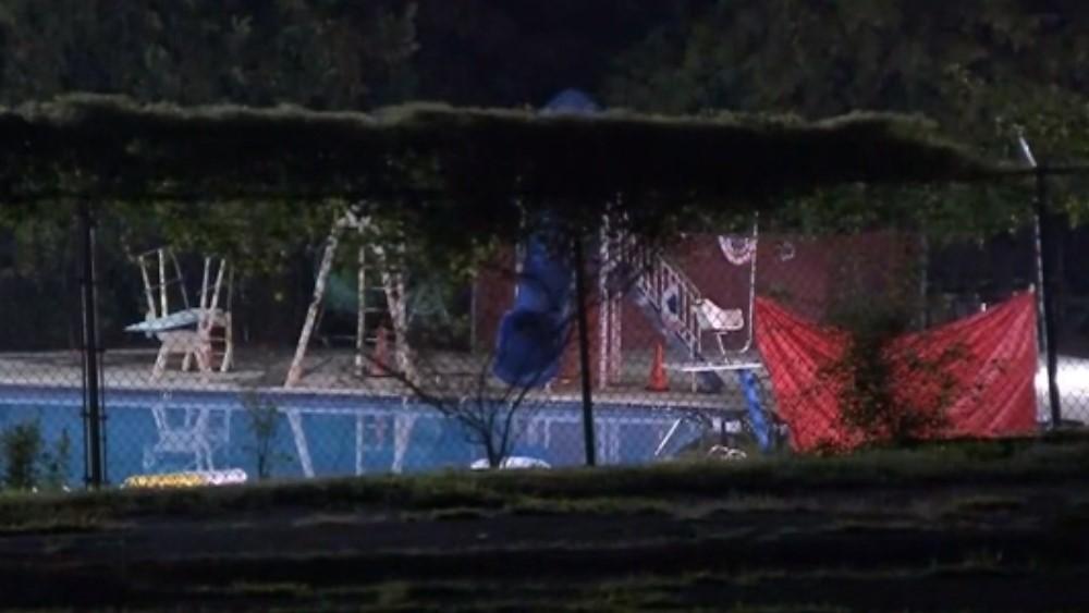 Alberca donde se ahogó adolescente de 13 años. Captura de pantalla / Fox29