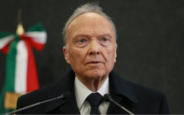 Le tengo confianza a Gertz Manero, es un hombre íntegro: AMLO tras decisión de FGR sobre caso Cienfuegos - Alejandro Gertz Manero. Foto de FGR