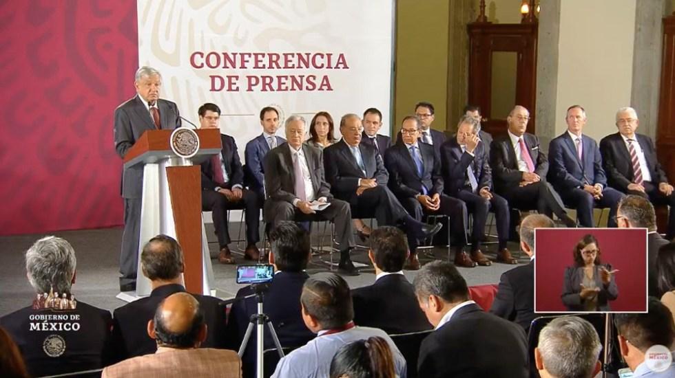 López Obrador anuncia acuerdo con empresas constructoras de gasoductos