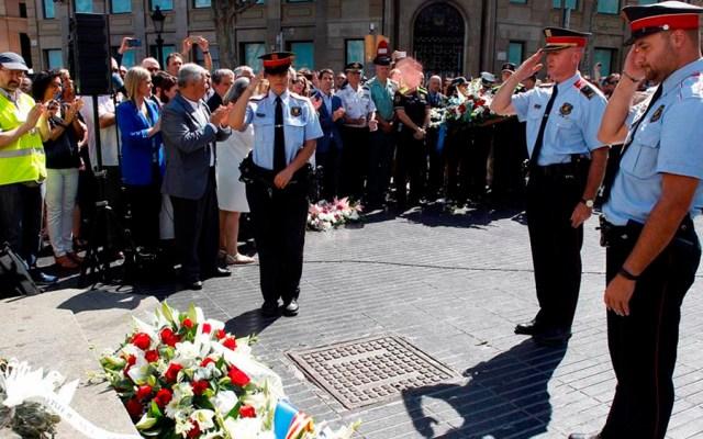 Recuerdan a víctimas de atentados en Barcelona - aniversario atentado barcelona