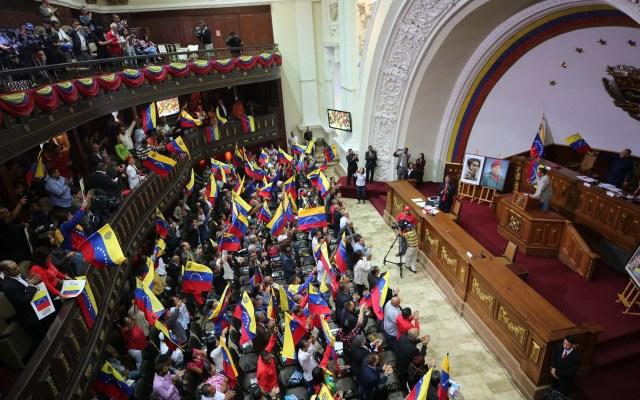 Juan Guaidó rechaza adelanto de comicios legislativos en Venezuela - Asamblea Nacional Constituyente de Venezuela. Foto de EFE