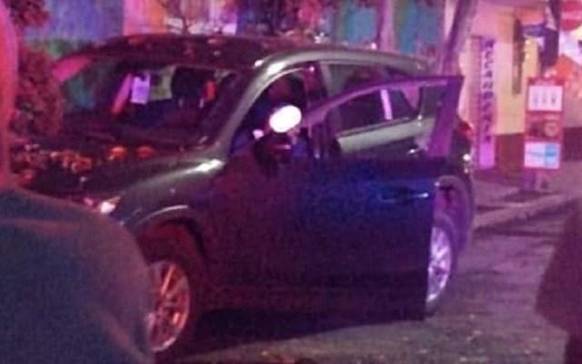 Mueren cuatro hombres de forma violenta en el Valle de México - Asesinato de conductor en Naucalpan. Foto de @TvNaucalpan