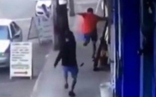 #Video Asesinan a hombre en Acapulco a plena luz del día - Foto de captura de pantalla