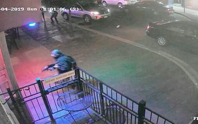 Revelan video del tiroteo en Ohio - atacante ohio