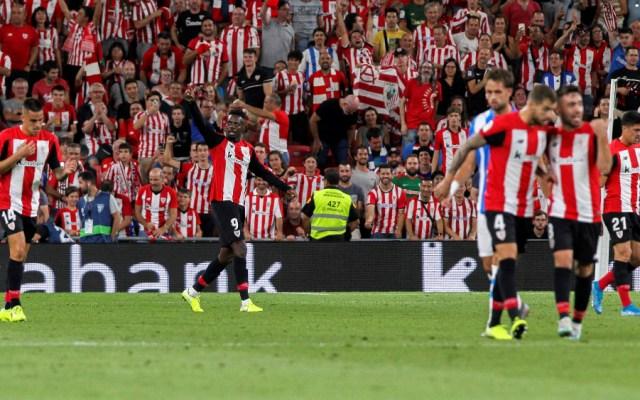 Athletic de Bilbao duerme líder de LaLiga tras vencer a la Real Sociedad - Foto de EFE