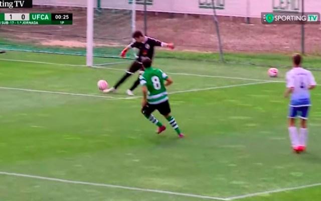 #Video Portero marca autogol a los 13 segundos del partido - autogol portero portugal