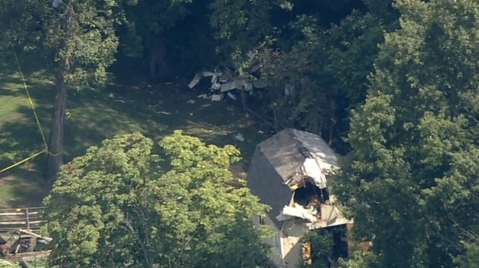 Al menos tres muertos por desplome de avión en Pensilvania - Foto de ABC Filadelfia