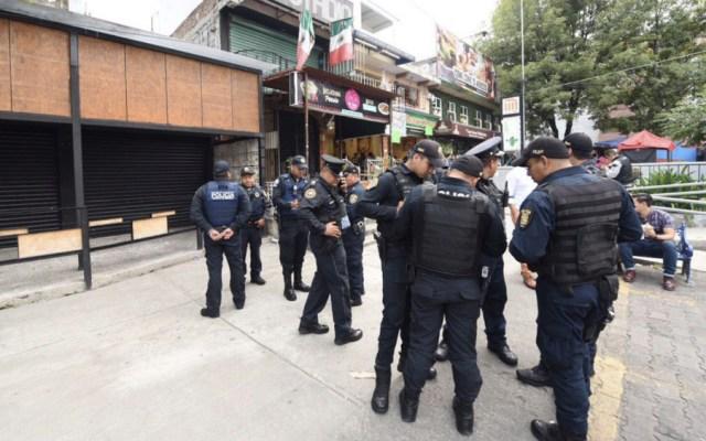 Balacera en Metro Copilco deja dos heridos - Foto de @Notimex