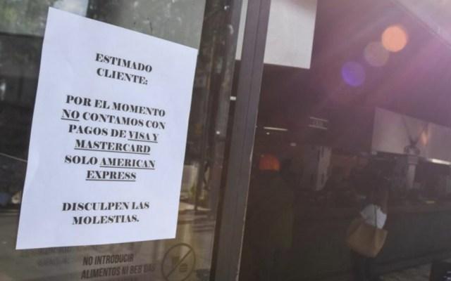 Frustración y descontento por falla en sistema electrónico de pagos de bancos - Foto de @elsolde_mexico
