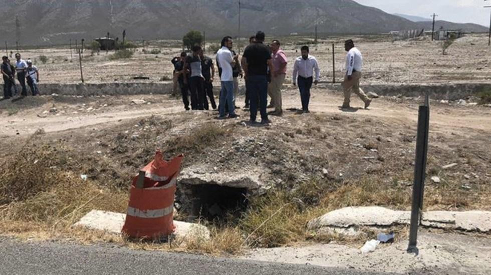 Localizan restos de bebé en carretera Saltillo-Monterrey - Foto de Periódico El Nacional