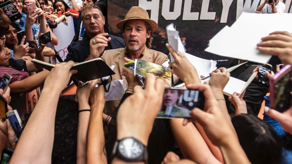 Brad Pitt promociona 'Once upon a time… in Hollywood' en México - Brad Pitt Once Upon a Time in Hollywood Toreo